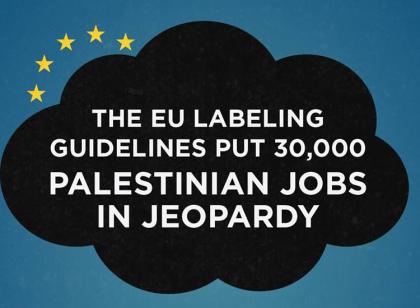 EU labeling puts 30,000 Palestinian jobs in jeopardy