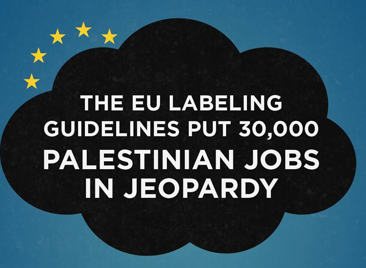 EU labeling puts 30,000 Palestinian jobs in jeopardy